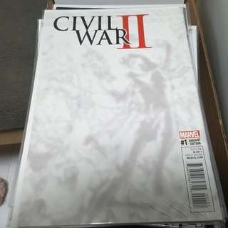Civil War II Kim Jung Ji Variant