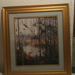 Two Framed Tom Thomson Prints