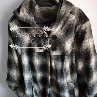 +PLUS Toggle Coat With Hood Size 24