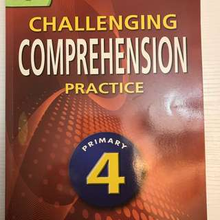 Challenging Comprehension Practice Primary 4