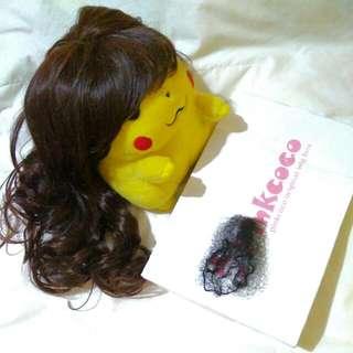 Wig Pink Coco Dark Brown