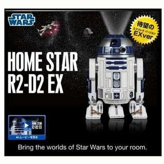 Homestar Star Wars R2-D2 EX Projector