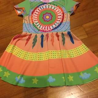 Loli Boli Dream Catcher Jersey Dress, From The TV Series Hi-5, Shipped From Australia, Size 1-2