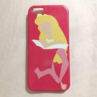 Pink Disney Aurora Sleeping Beauty iPhone 5/5s Hard Case