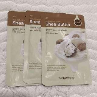 FACE SHOP- Shea Butter Mask