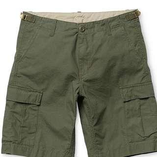 Carhartt Aviation Shorts 軍綠色