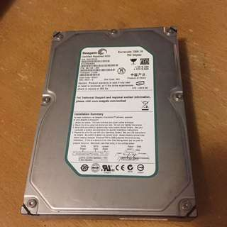 Seagate Barracuda 750GB Harddisk 7200RPM