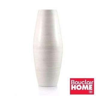 Bouclair Home White Standing Vase