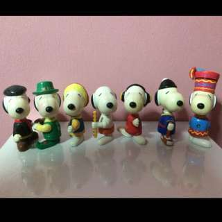 Snoopy Set ( 7pcs )