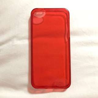 Authentic Red Cherry Jelly Belly iPhone 5/5s Silicone Case