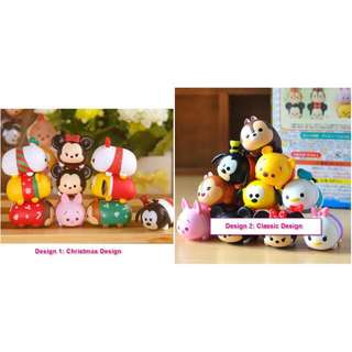 Tsum Tsum Figurines ~ 10 designs in a set