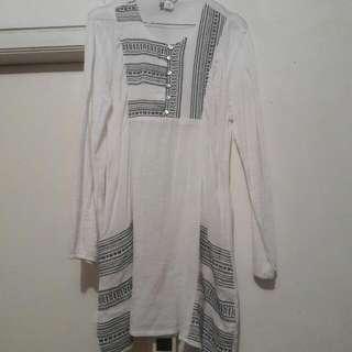 Baju Tunic Kulit Jagung