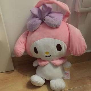 My Melody Soft Toy Bag