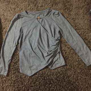 No Brand Grey Shirt