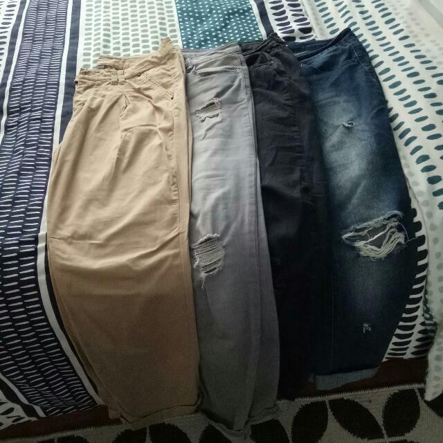 4 Pairs Of Pants