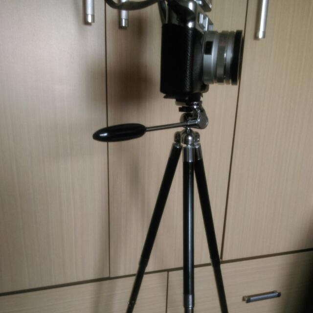 七段式專業不鏽鋼攝影腳架