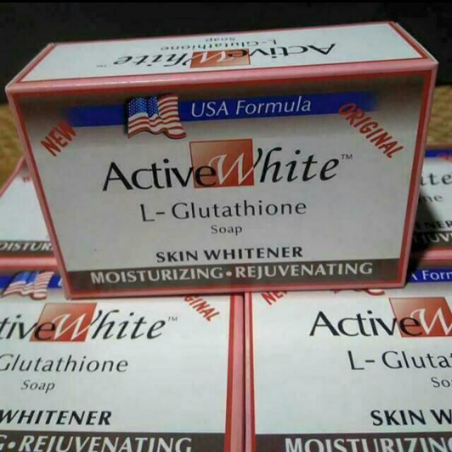 Active White L-Glutathione Soap