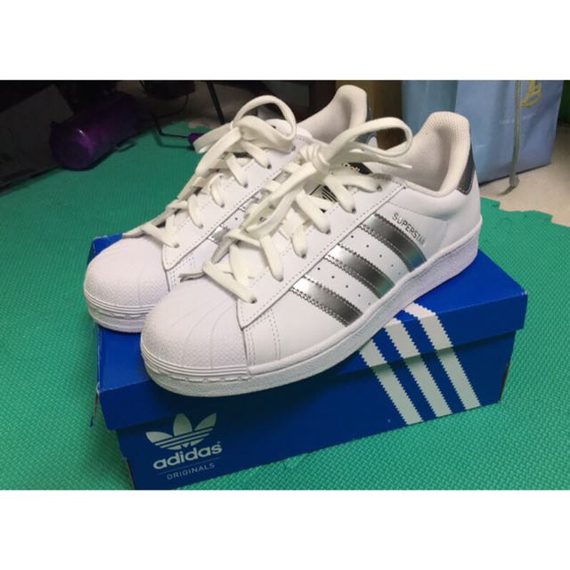 Adidas Superstar 銀標