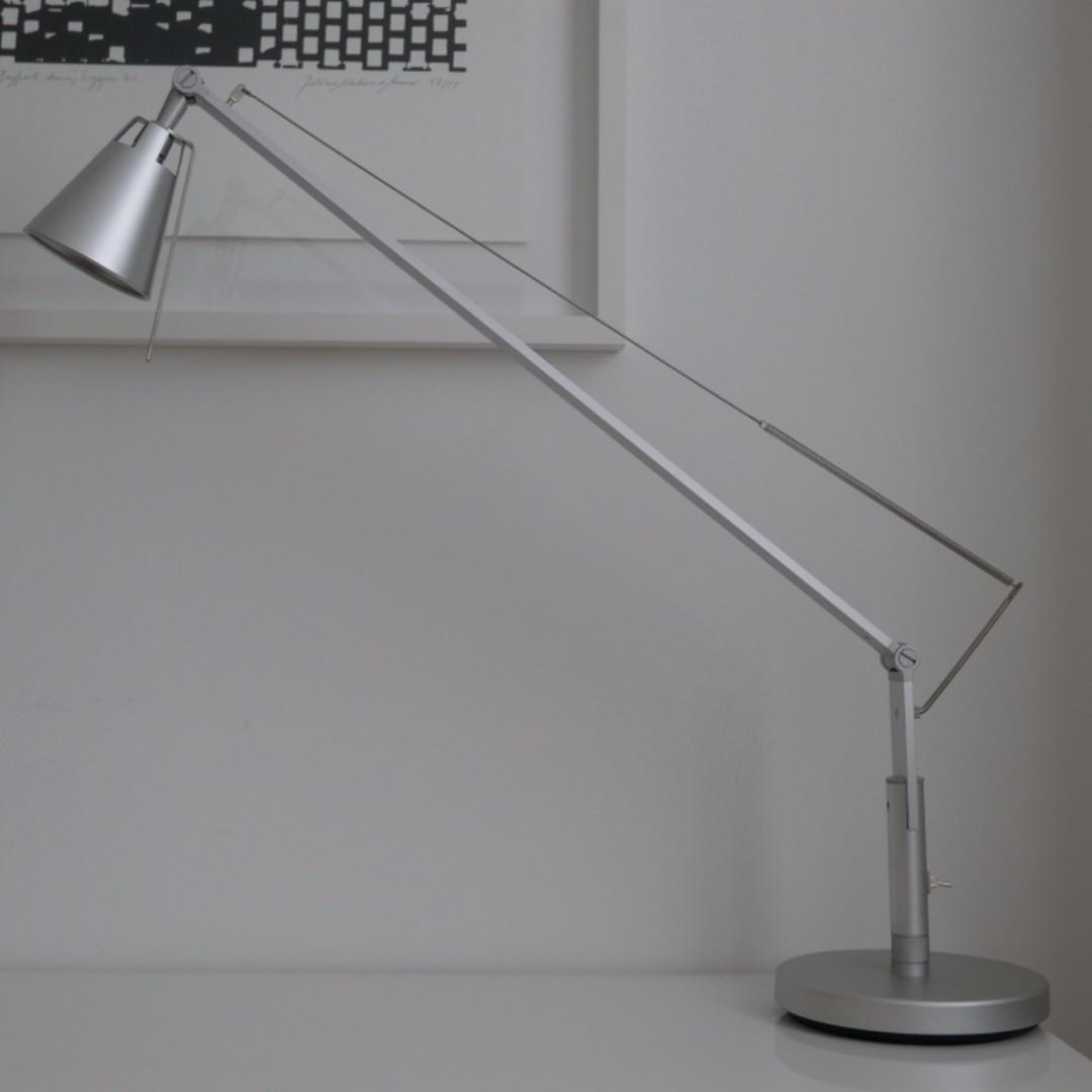 Desk Lamp Ikea Husvik Silver Furniture Others On Carousell
