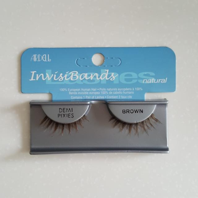 315dd85a8ef Ardell InvisiBands (Natural) Demi Pixies - Brown, Health & Beauty ...