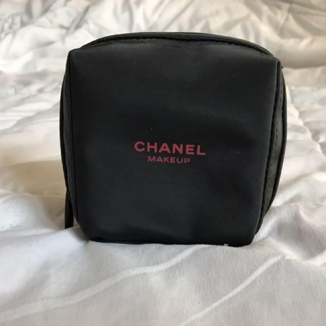 Authentic Chanel Mini Makeup Pouch