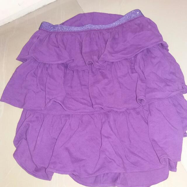Authentic Gap Ruffled Skirt