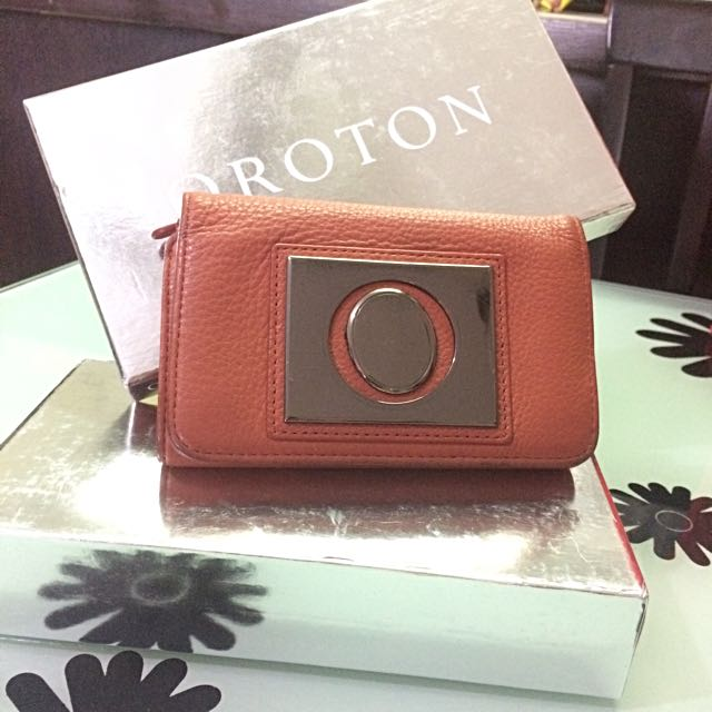Authentic Genuine Leather Oroton Purse