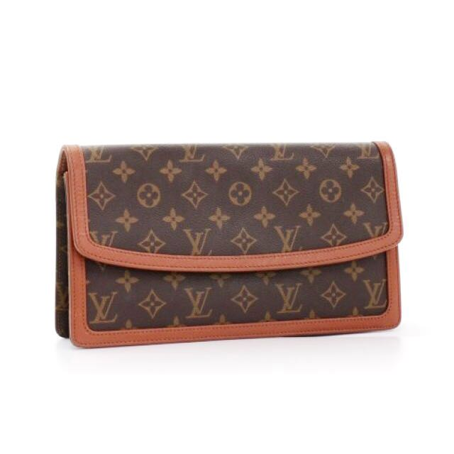Authentic Louis Vuitton Vintage POCHETTE DAME Clutch bag