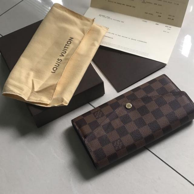 Authentic Sarah Wallet From Louis Vuitton