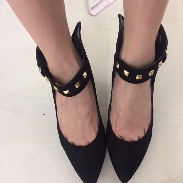 Bcbg velvet Shoes