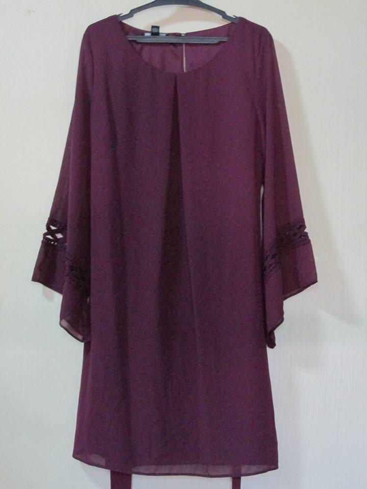 BCX DRESS OVERRUN