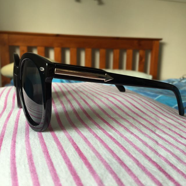 Black Silver Arrow Sunglasses