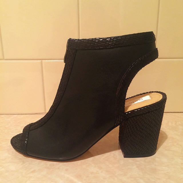 BRAND NEW Cutout Heeled Boots