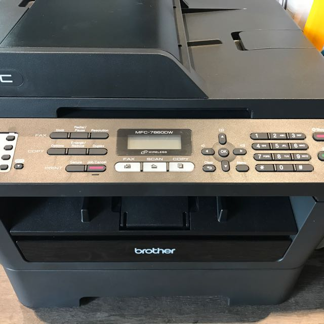 Brother Laser Printer MFC-7860DW