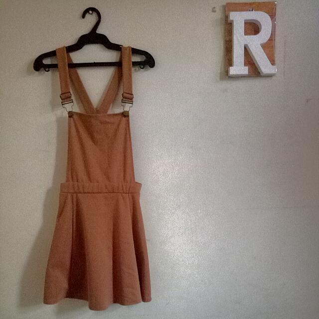 Brown Jumpskirt