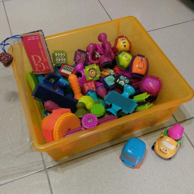 B.Toys鬃毛積木