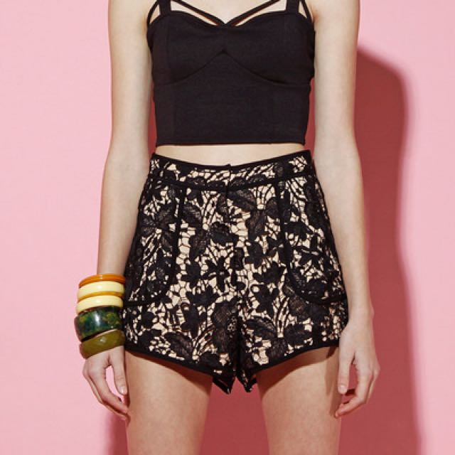Cameo Lace Shorts