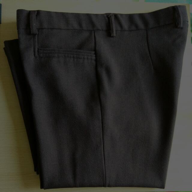 (Repriced)Celana Cokelat Ann Design Uk. M