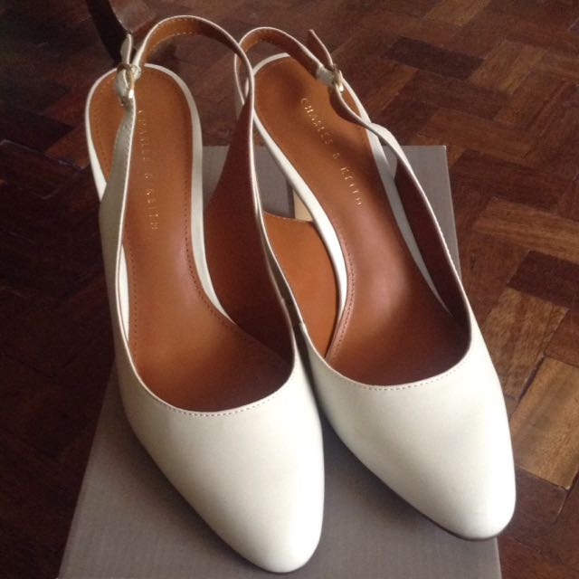 Charles And Keith Sling back Heels