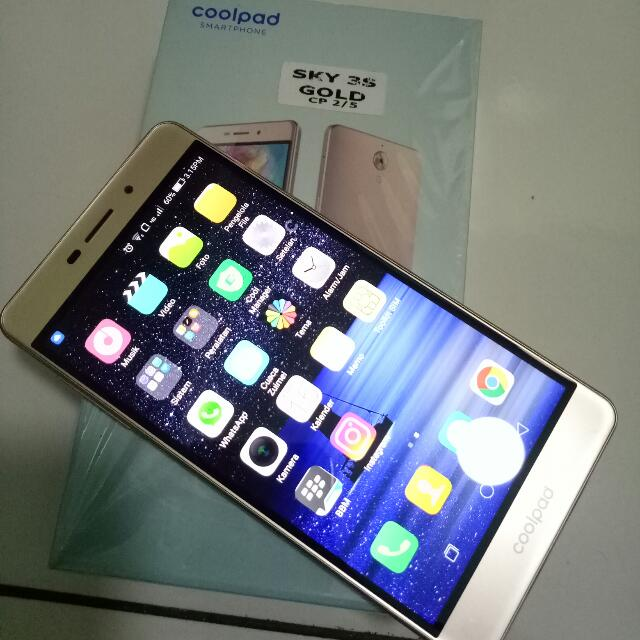 Coolpad Sky 3 gold