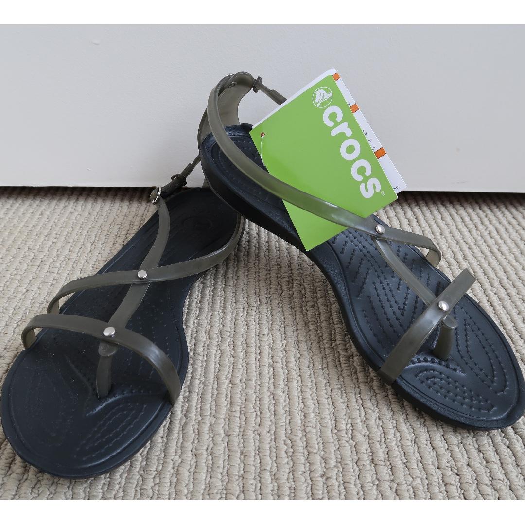 Crocs Really Sexy Flip Sandal - Black