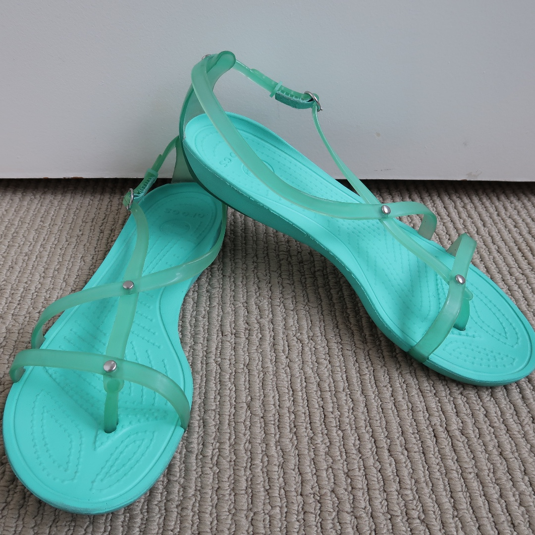 Crocs Really Sexy Flip Sandal - Turquoise