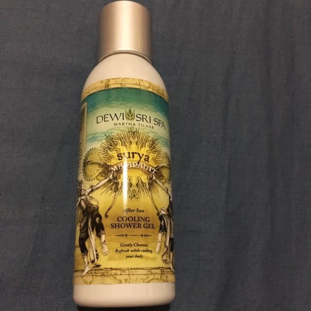 Dewi Sri Spa Surya Majapahit Cooling Shower Gel