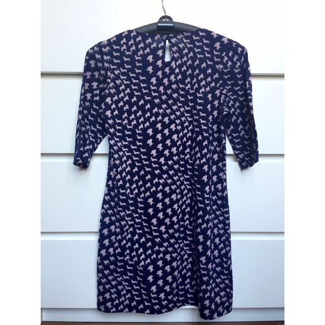 Dorothy Perkins Hounds Print Short Dress