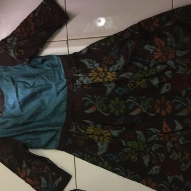 Dress Tenun Mix