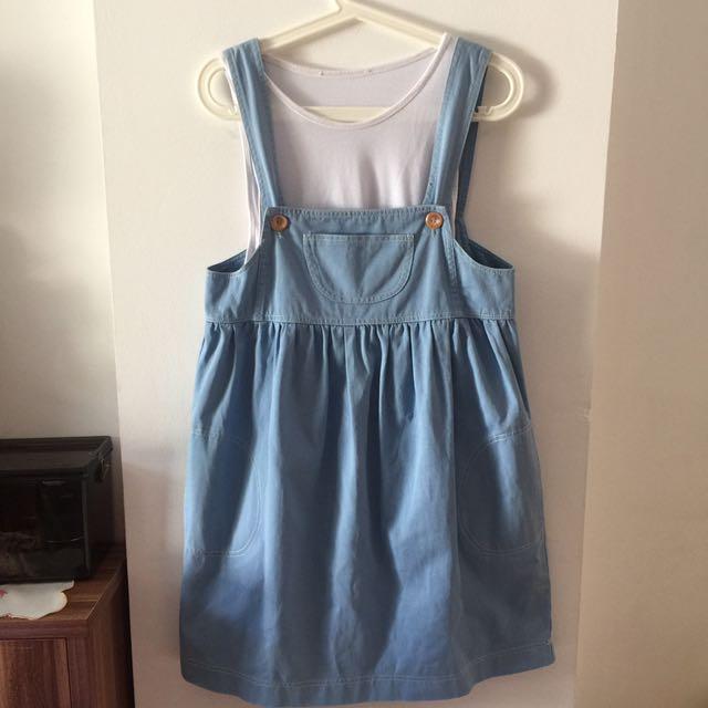 Dress Vintage Baby Blue