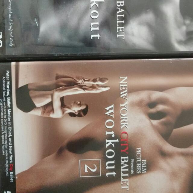 DVDs - NYC Workouts, Levels 1 & 2