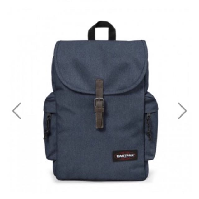 Authentic Eastpak Austin Double Denim Backpack