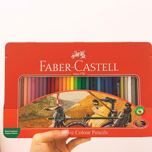 Faber-castell色鉛筆36色