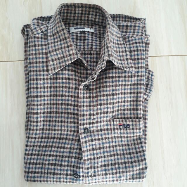 Flannel Fila Original